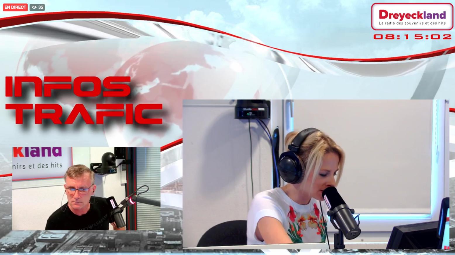Radio Dreyeckland, tous les matins, sur Facebook Live