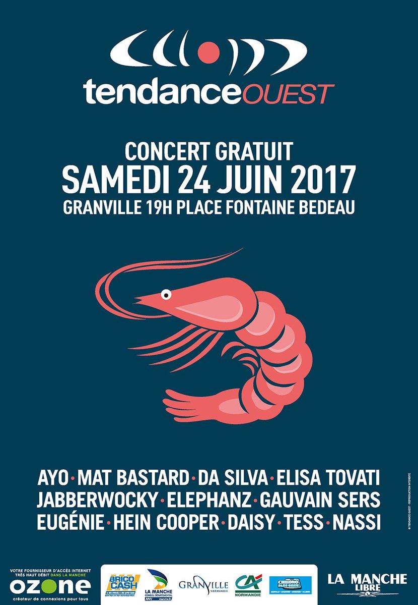 """Tendance Ouest organise un """"Tendance Live"""" à Granville"""