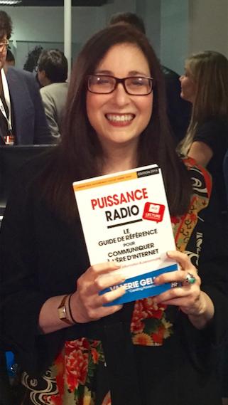 En mars 2016, Valerie Geller présentait son livre traduit en français aux RadioDays Europe