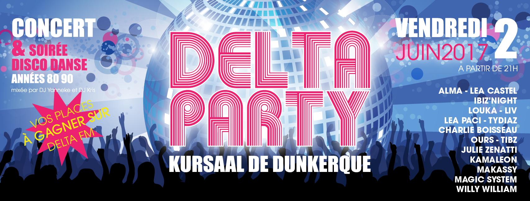 """Delta FM organise une nouvelle """"Delta Party"""""""
