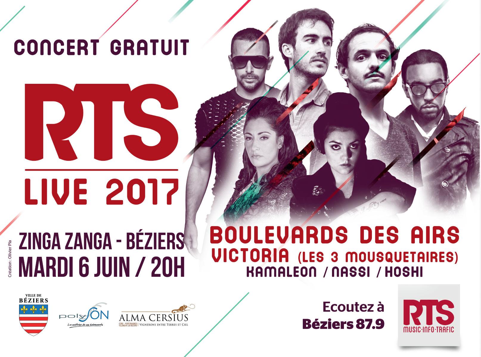 """RTS prépare un """"RTS Live"""" à Béziers"""