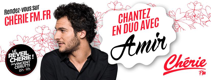 Chérie FM : un auditeur chante en duo avec Amir