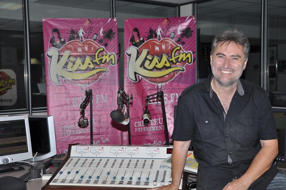 Olivier Cordier, le directeur d'antenne de Kiss FM - Crédit Photo : Kiss FM