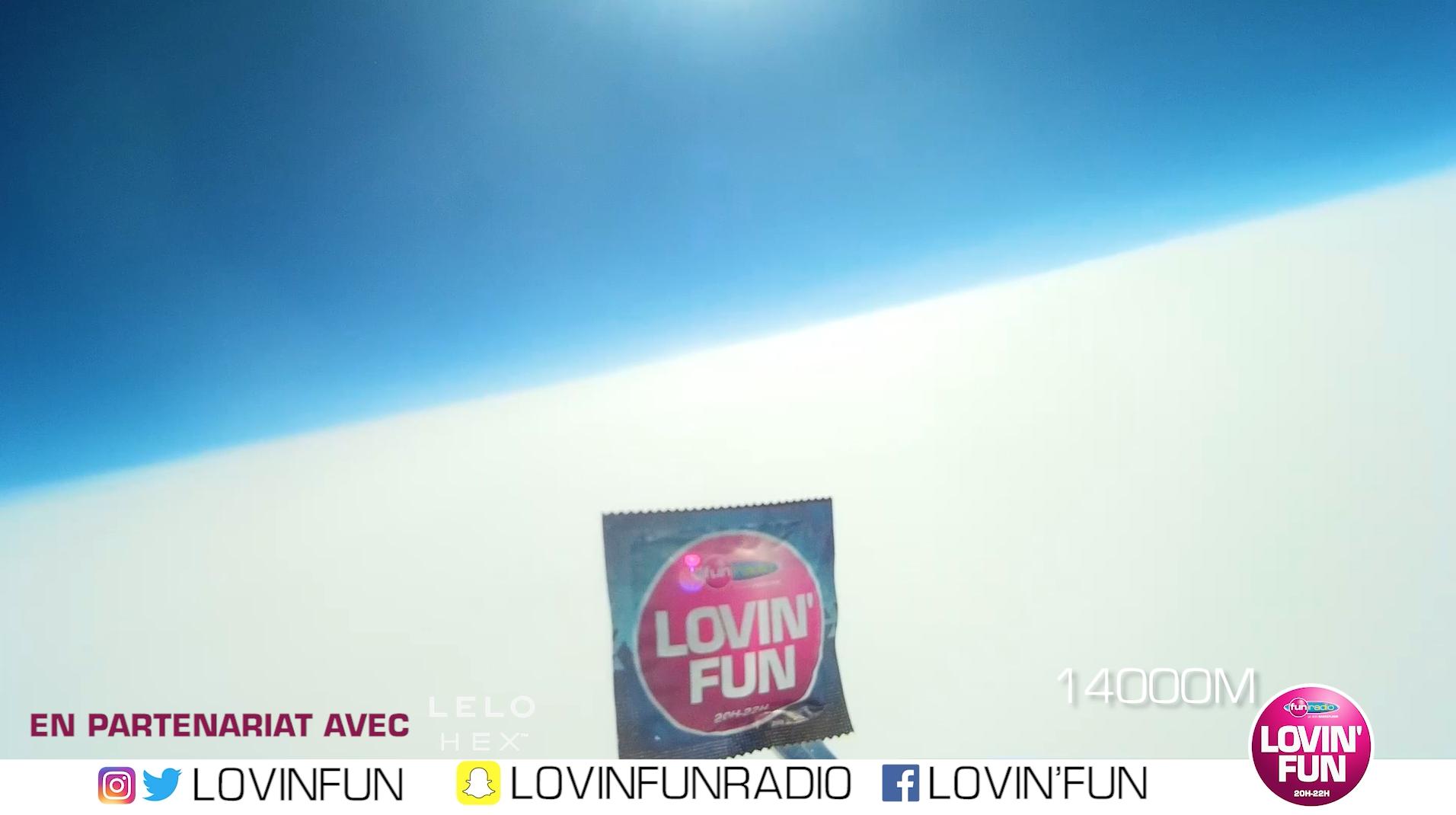 Fun Radio envoie un préservatif dans l'espace