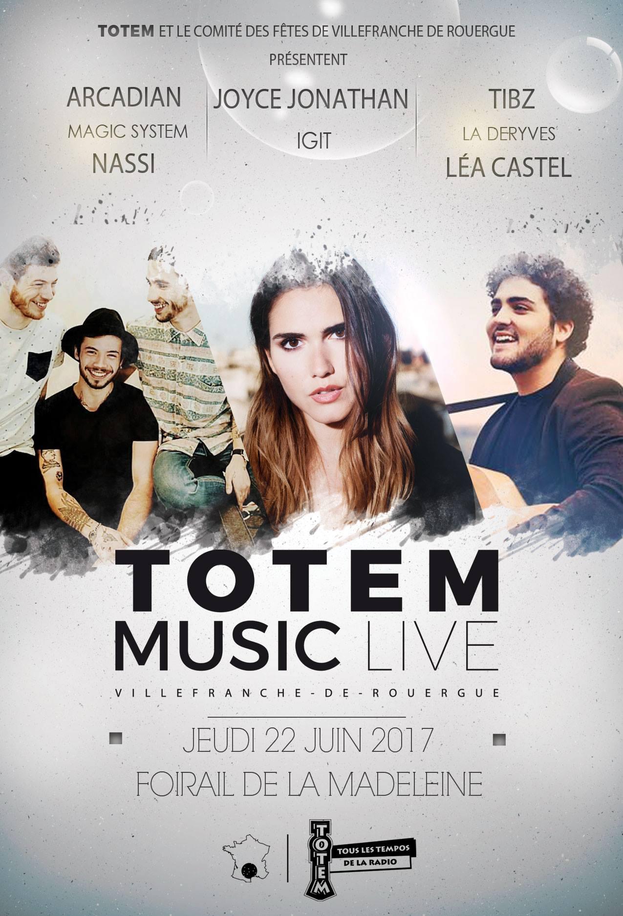 """Première édition du """"Totem Music Live"""""""