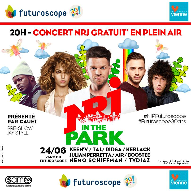 NRJ In The Park s'installe au Futuroscope