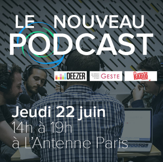 Le Nouveau Podcast réunit les acteurs de l'audio digital