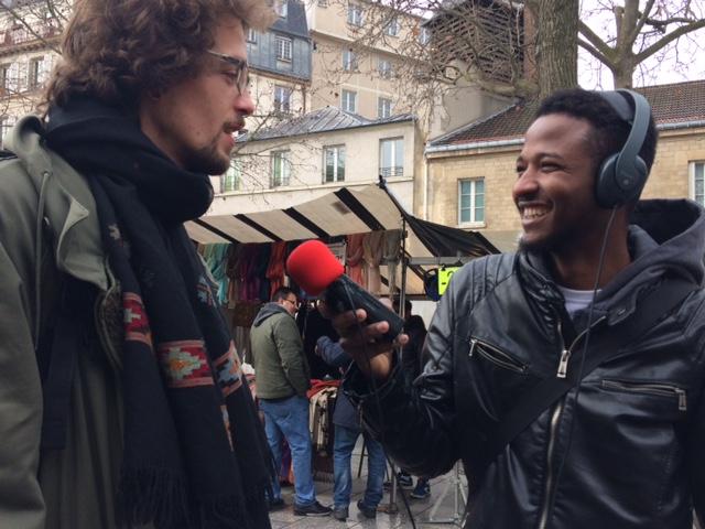 Radio Campus Paris forme les migrants à la radio