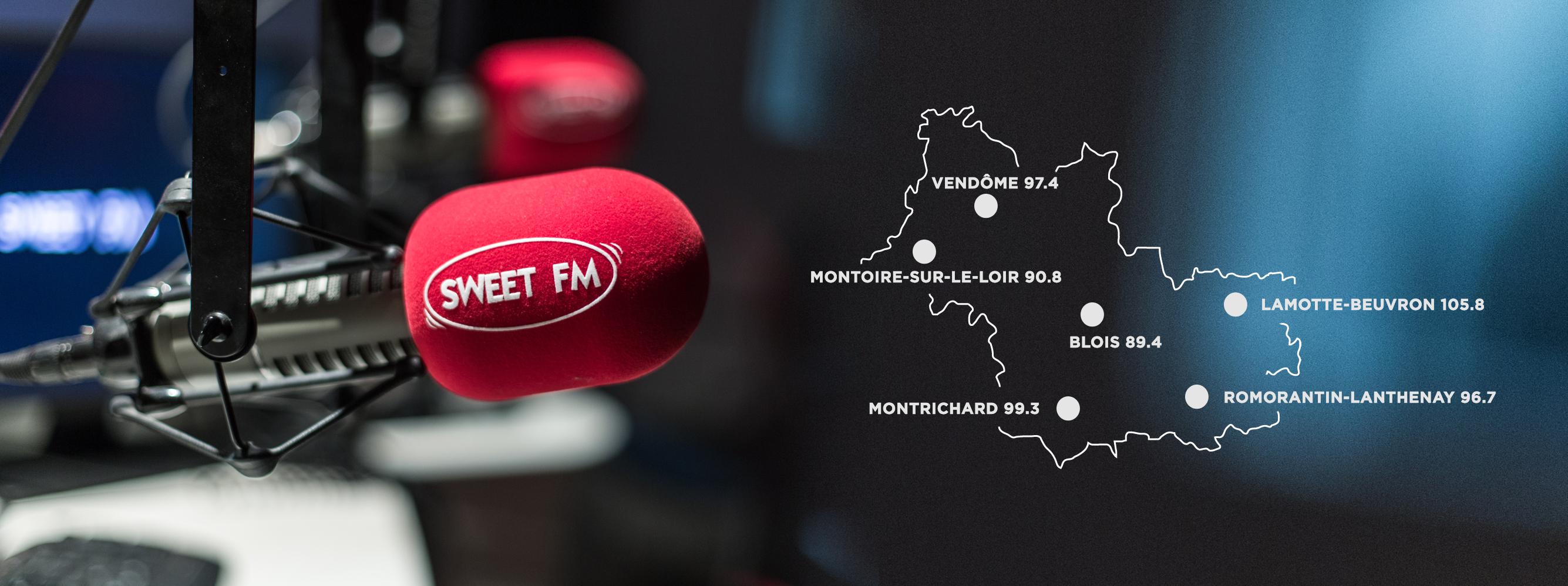 Sweet FM étend sa couverture au Loir-et-Cher