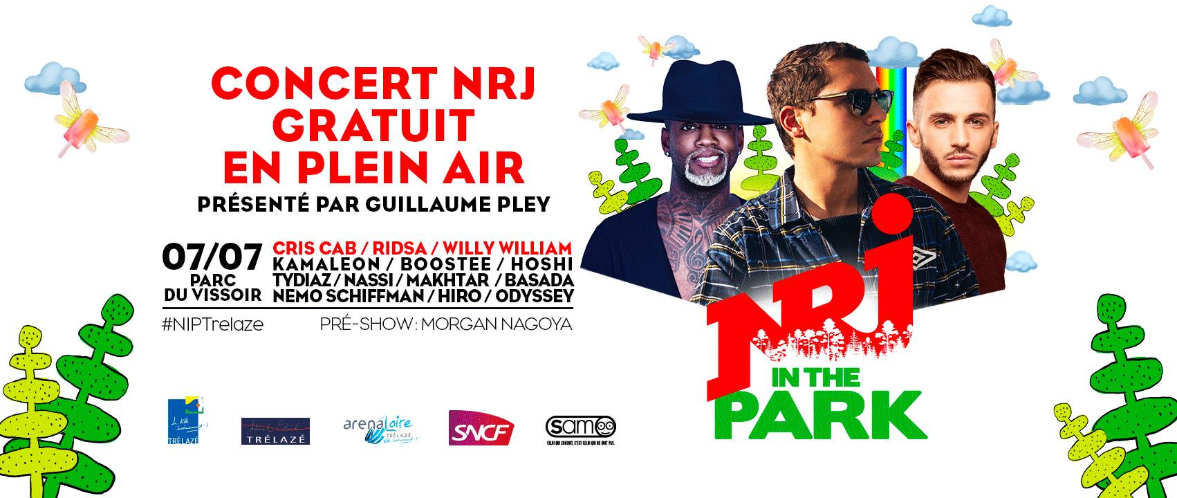 NRJ In The Park s'installe à Trélazé