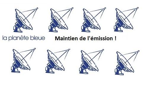 """Couleur 3 : une pétition pour le maintien de """"La planète Bleue"""""""