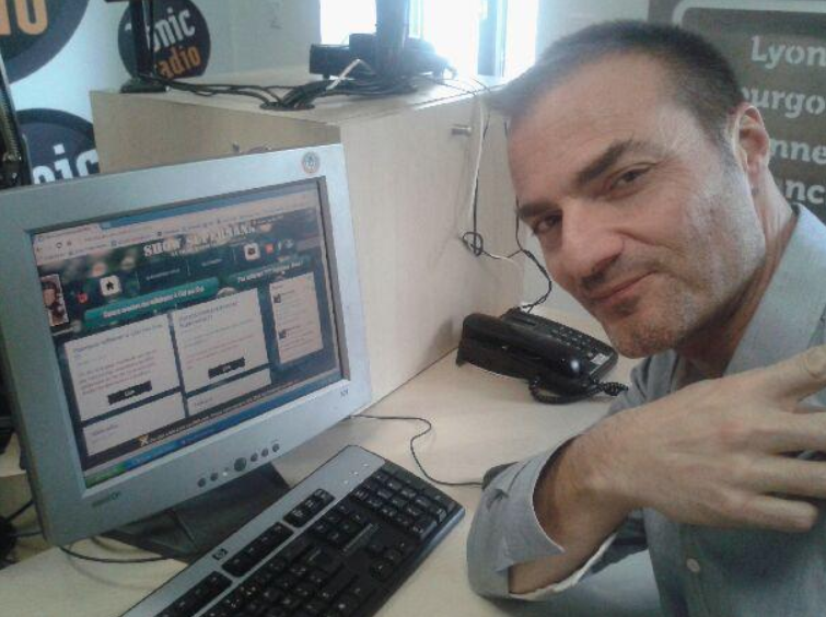 Christian d'Aubarède quitte Tonic Radio à Lyon