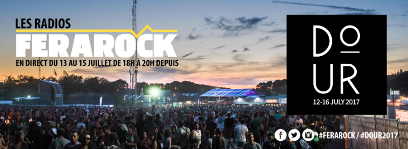 Les radios de la Ferarock au Dour Festival