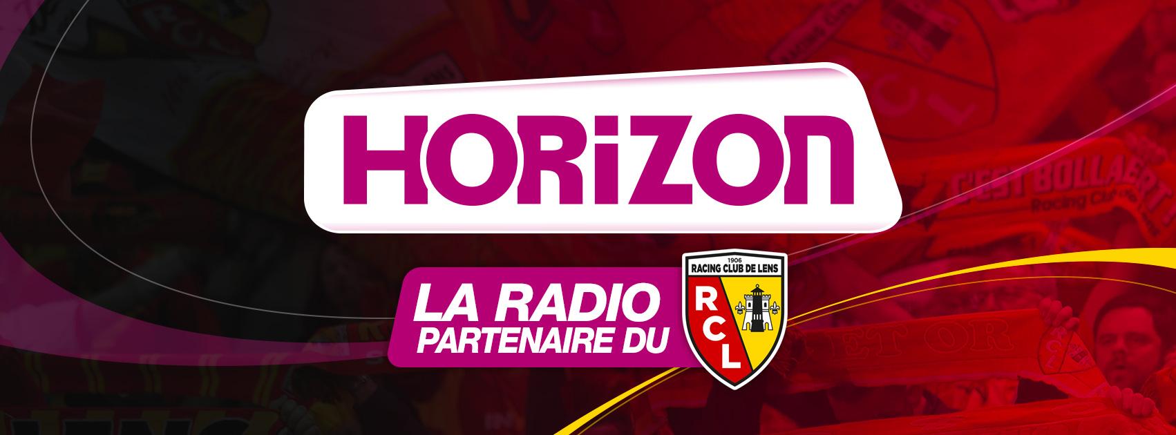 Horizon devient radio partenaire du RC Lens