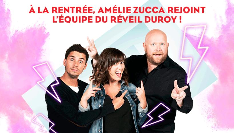 Amélie Zucca rejoint l'équipe de NRJ Belgique