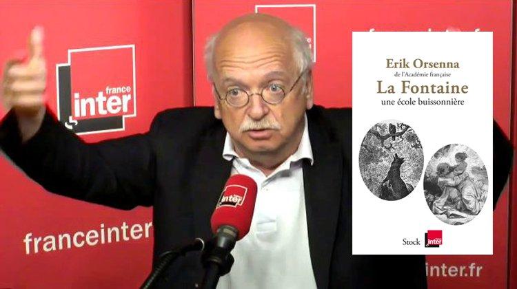France Inter : les chroniques d'Orsenna dans un livre