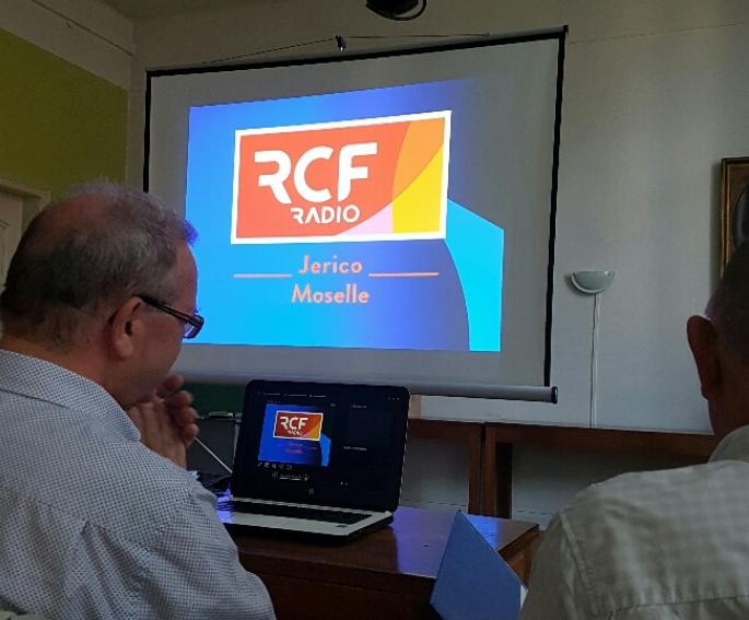 "Radio Jerico devient ""RCF Jerico Moselle"" © Radio Jerico"