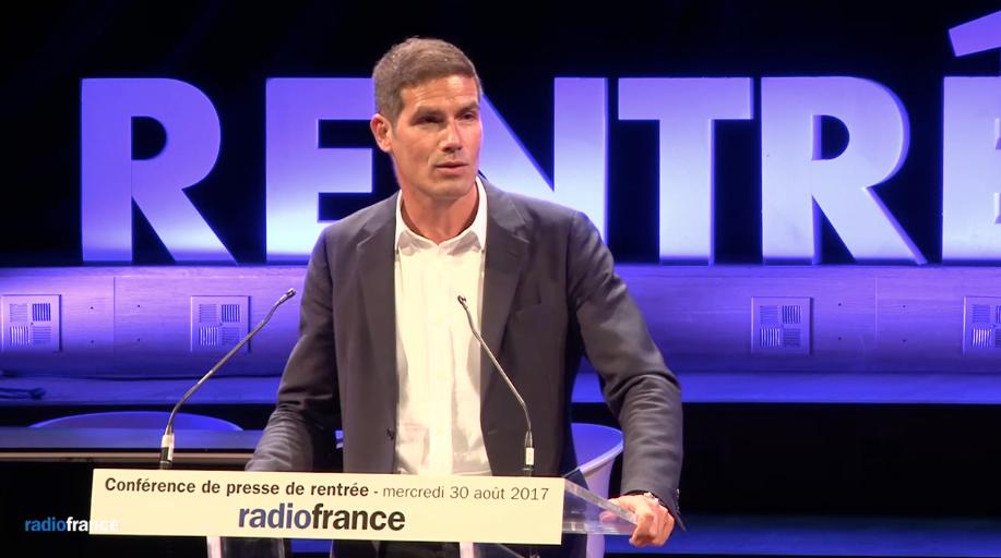 Mathieu Gallet, ce matin au Studio 104, a lancé la nouvelle saison de Radio France