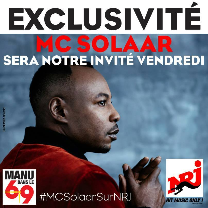 MC Solaar revient à la radio sur NRJ