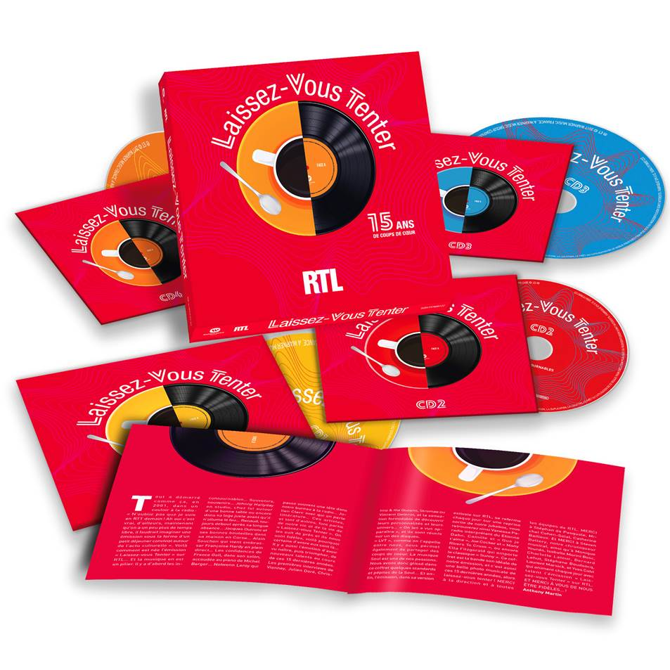 Rtl l 39 mission laissez vous tenter dans un coffret de 4 cd - Laissez vous tenter ...