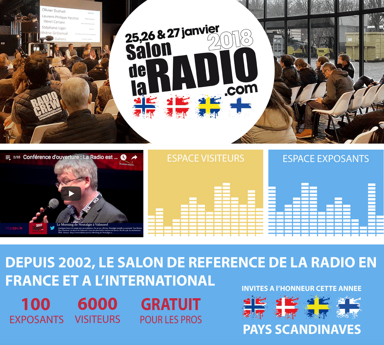 "Un ""Copil"" pour le Salon de la Radio"