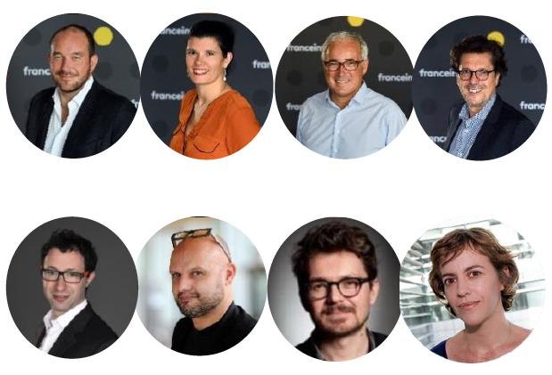 Le jury de la première édition de Newstorm