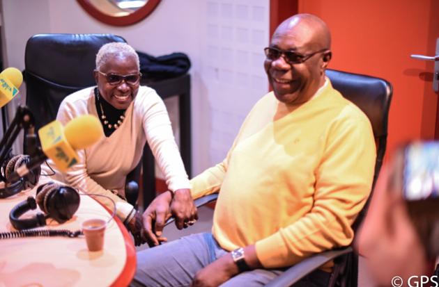 Angélique Kidjo accueille Manu Dibango dans son émission