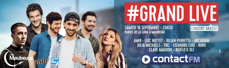 """Un nouveau """"Grand Live"""" organisé par Contact FM"""