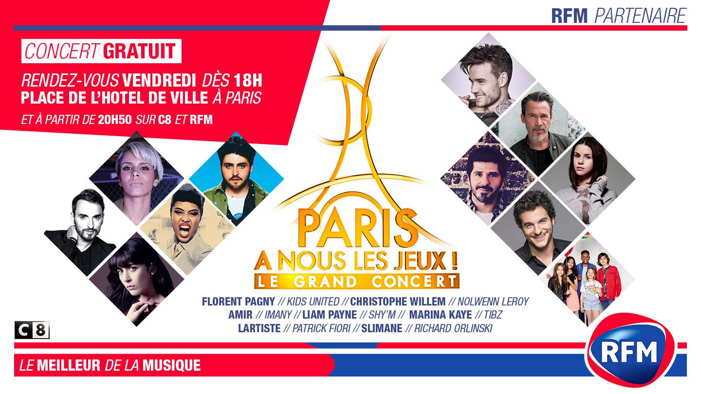 RFM célèbre l'obtention des JO par Paris