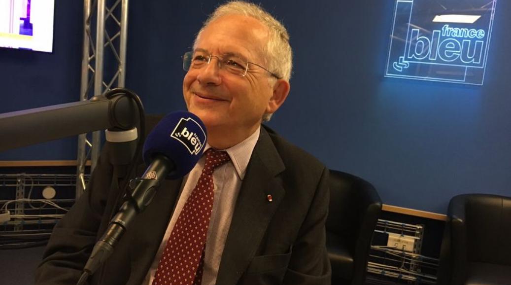 Le président du CSA, Olivier Schrameck, à Toulouse pour parler radio et télé locale. © Radio France - Alban Forlot