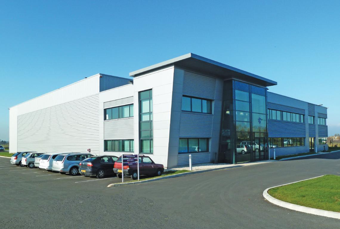 Le siège de la société Audiopole à Montévrain