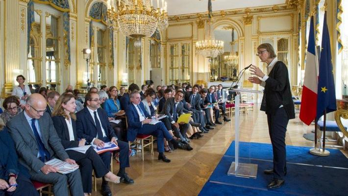 Françoise Nyssen, ministre de la Culture, a présenté hier son budget dans le cadre du projet de loi de finances pour 2018 © Ministère Culture