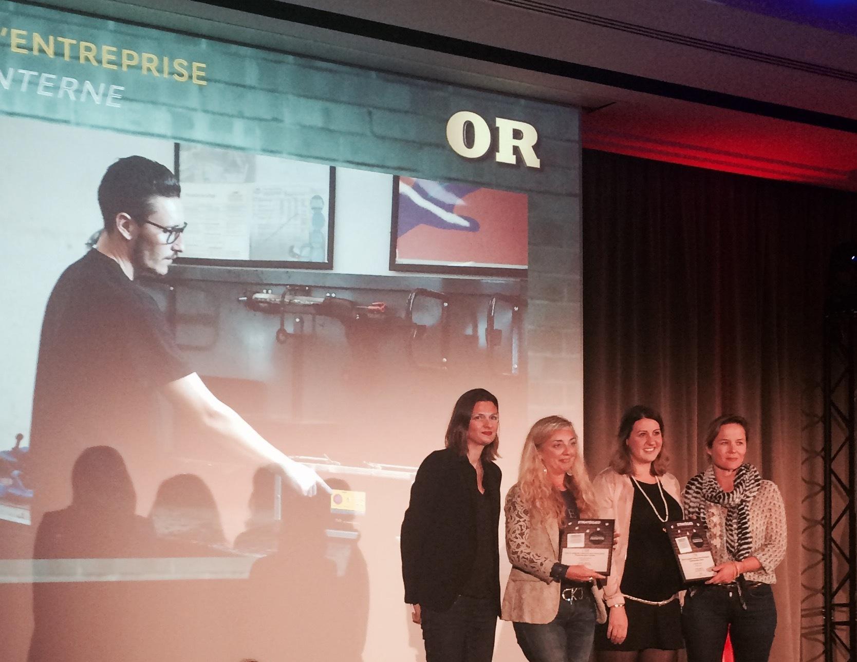 Carglass Radio récompensée au Grand Prix Stratégies 2017 dans la catégorie communication d'entreprise/communication interne.