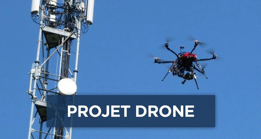 Drones : le projet de l'ANFR bientôt opérationnel