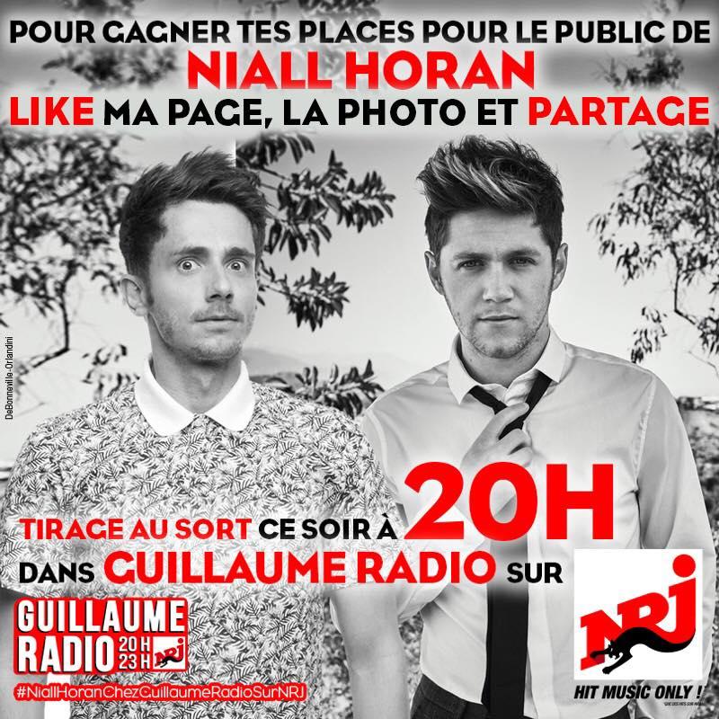 "Niall Horan chez ""Guillaume Radio"" sur NRJ"