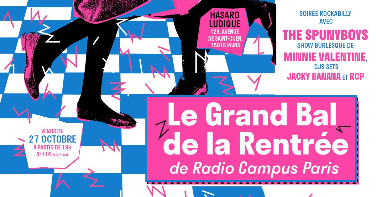 "Radio Campus Paris prépare son ""Bal de rentrée"""