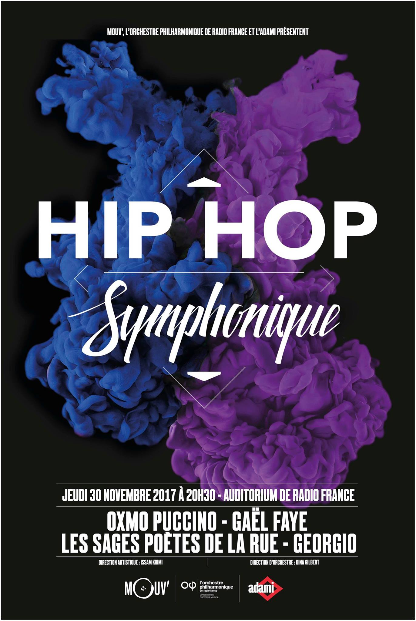 Mouv' : seconde édition de Hip Hop Symphonique