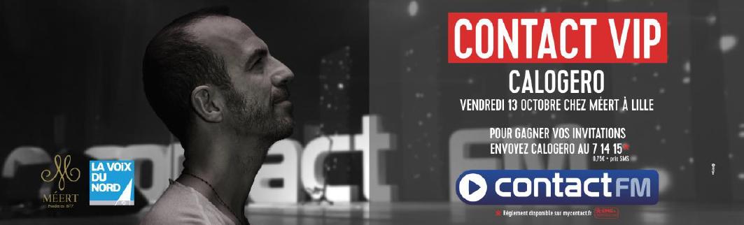 Contact FM : un Contact VIP avec Calogero