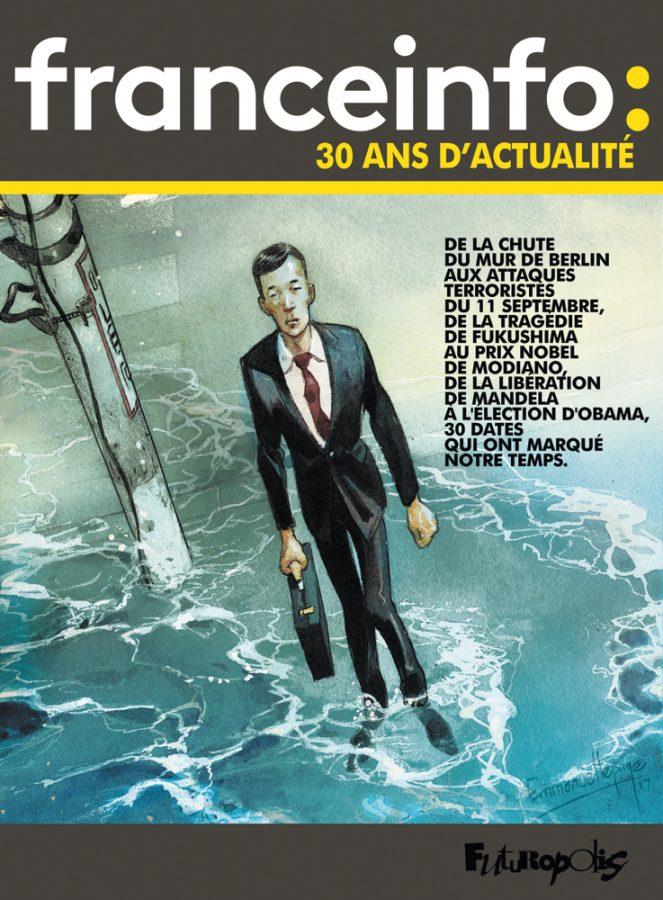 """""""franceinfo: 30 ans d'actualité"""" dans une BD"""