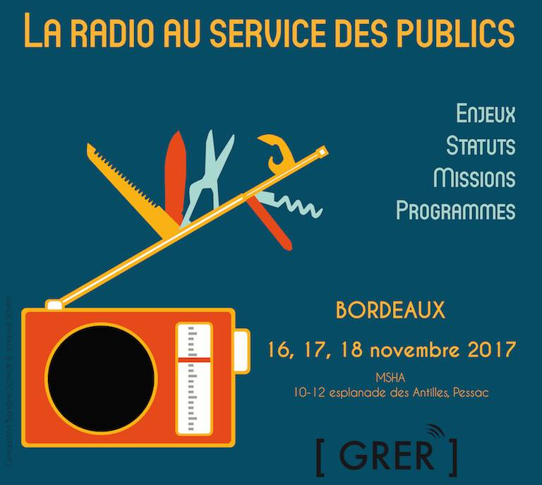 Le GRER organisera son 8e colloque à Bordeaux