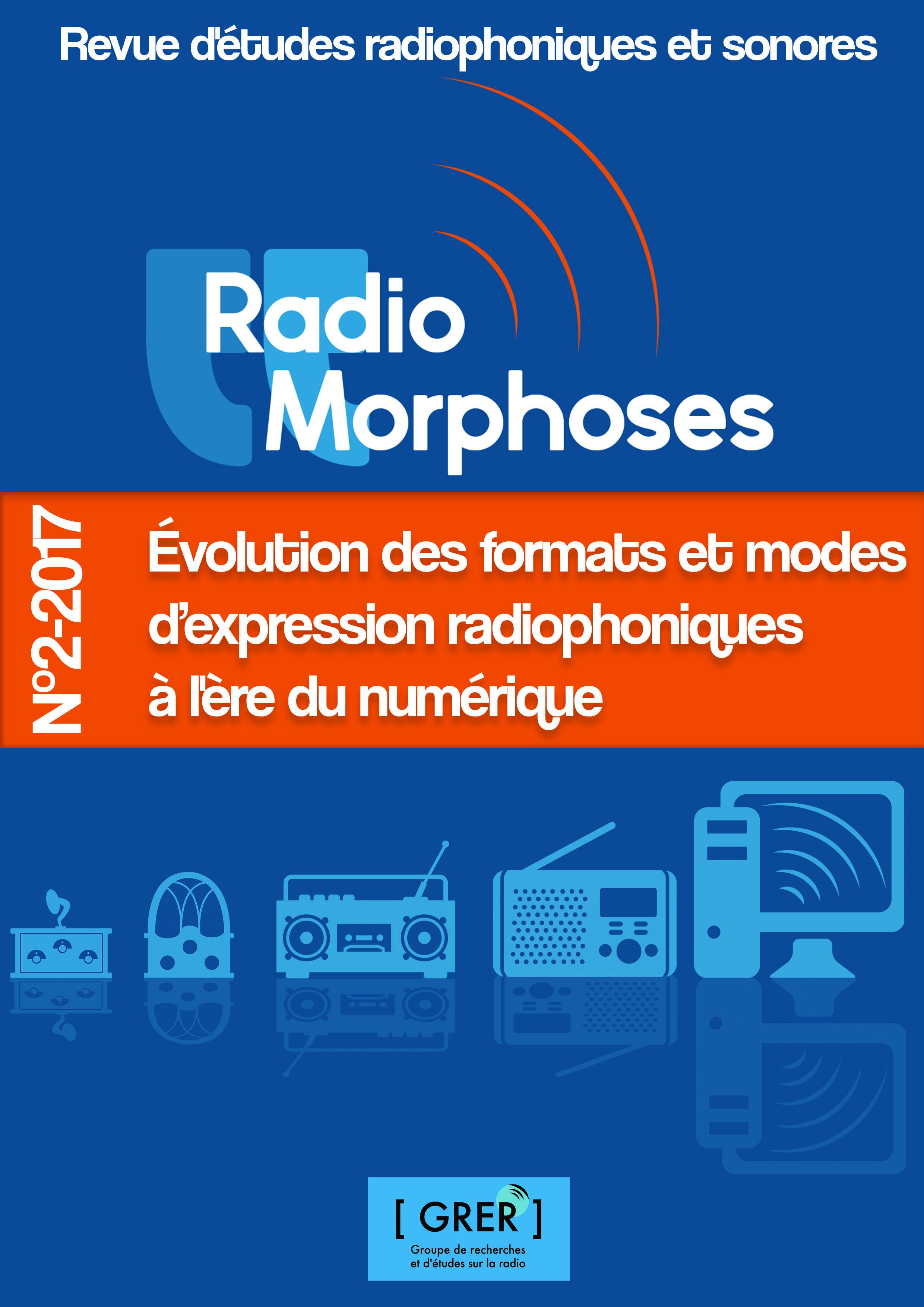 Nouveau numéro de la revue RadioMorphoses