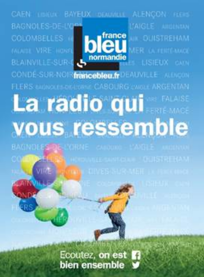 France Bleu s'affiche dans toute la France