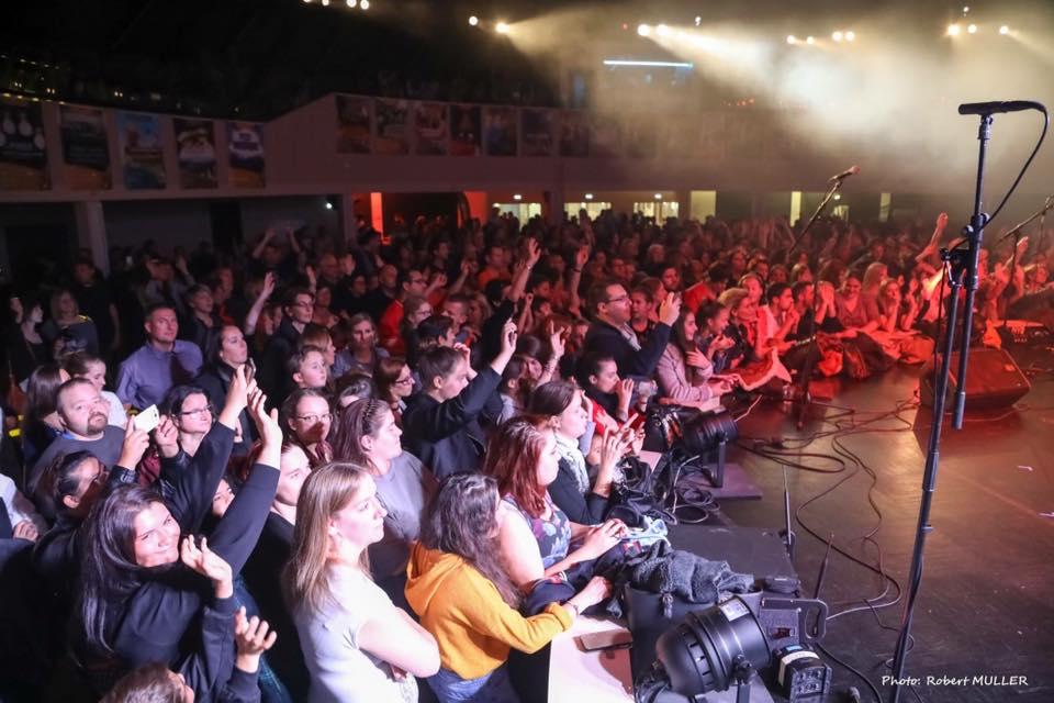 Plus de 1 000 auditeurs au concert de Cerise FM