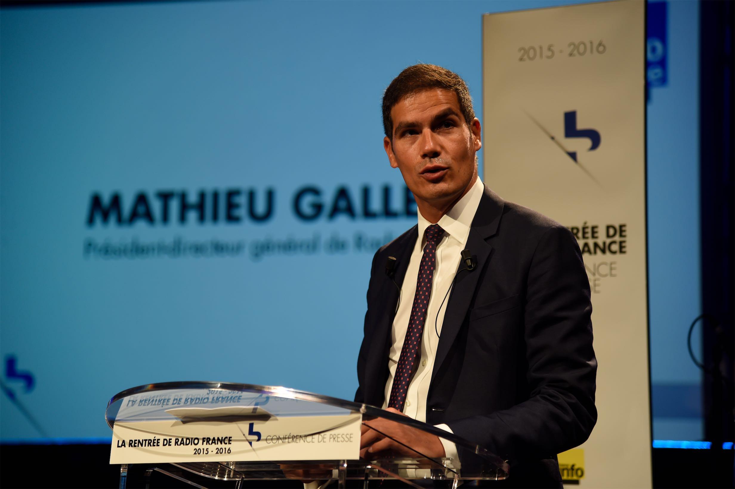 Mathieu Gallet, président directeur général de Radio France - crédit photo : RF/Christophe Abramowitz