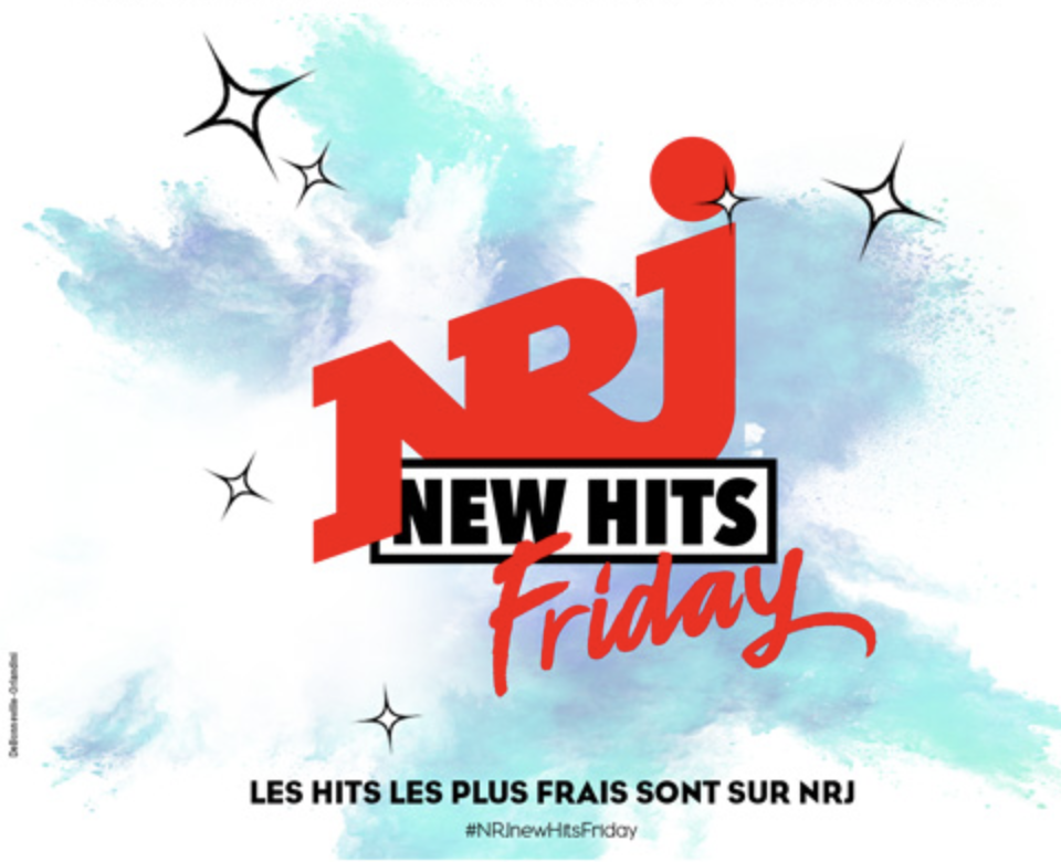 "NRJ a lancé le ""NRJ New Hits Friday"""