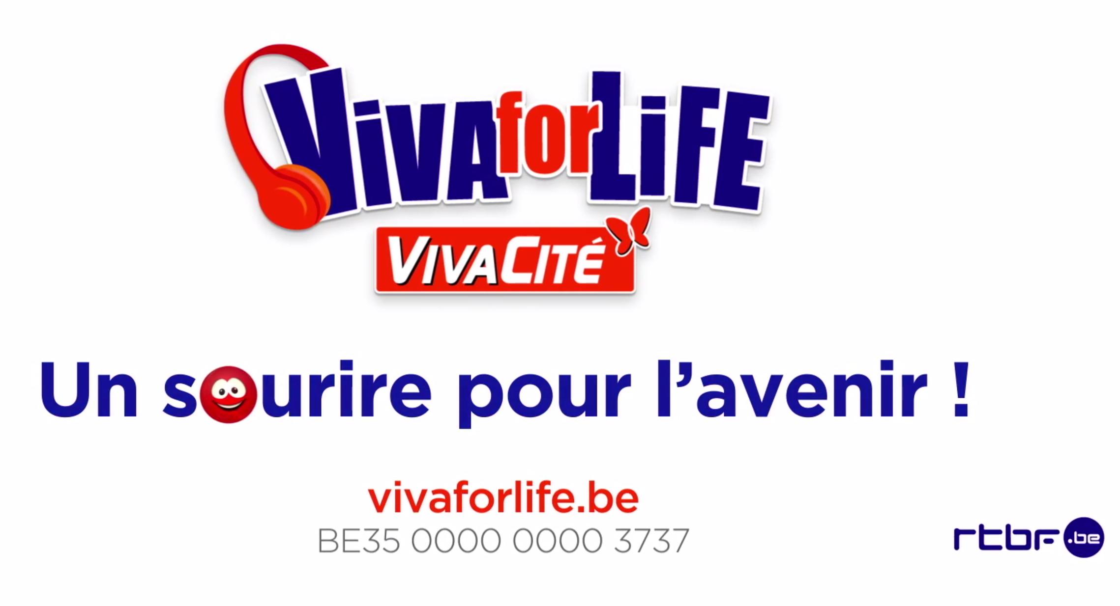 La RTBF lance sa campagne pour Viva for Life