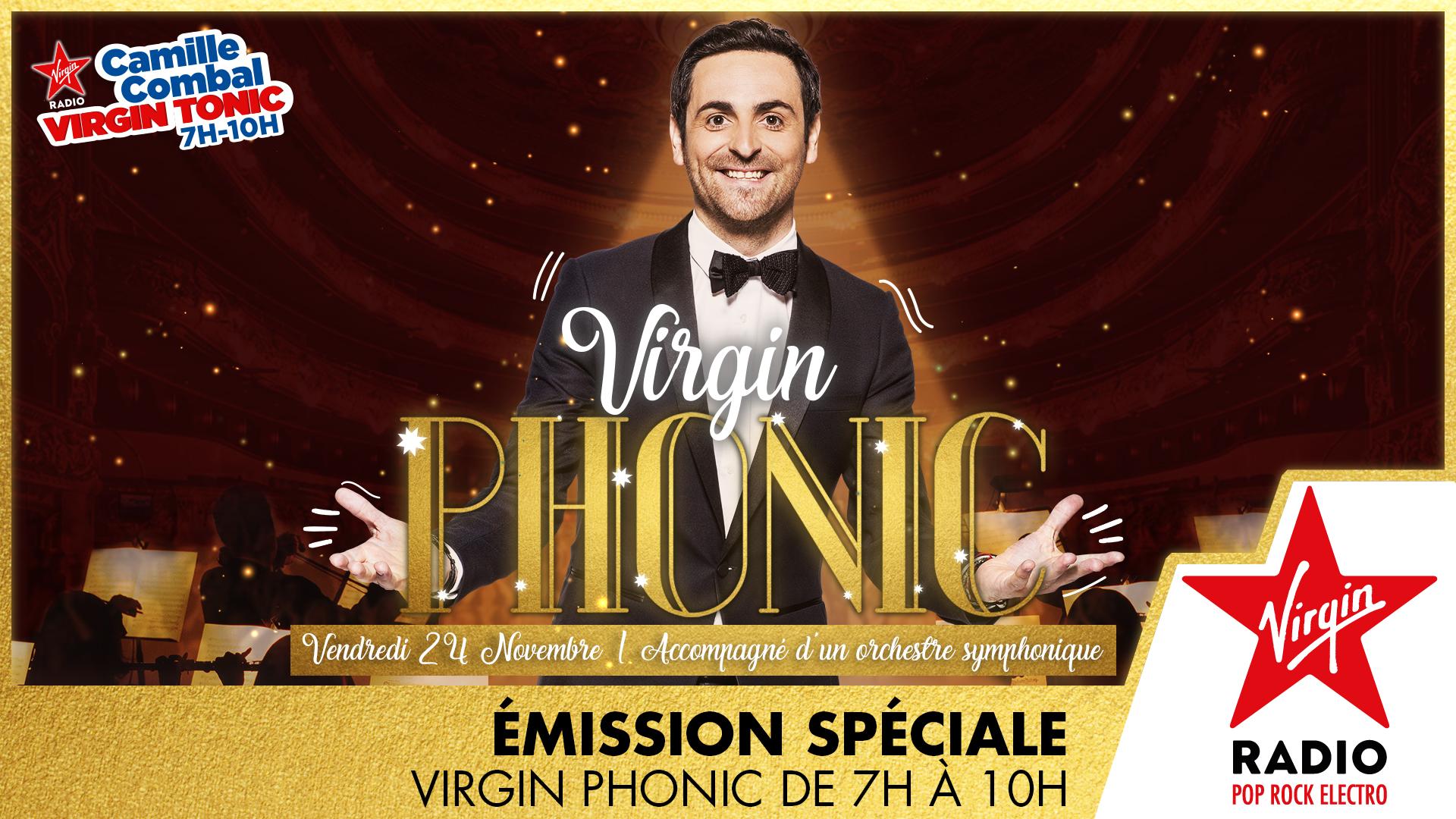 "Ce vendredi, ""Virgin Tonic"" devient ""Virgin Phonic"""