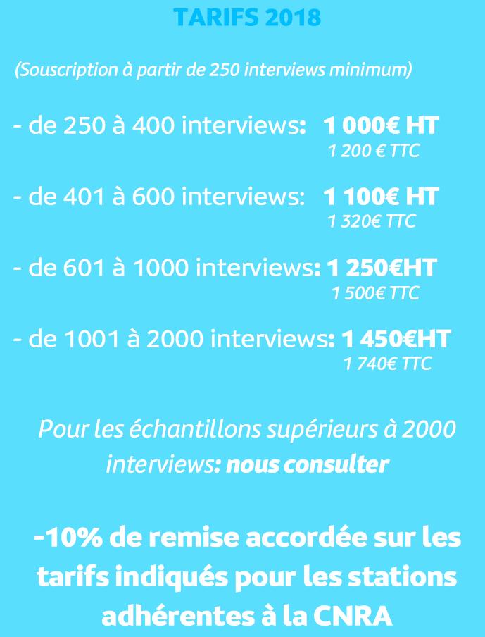 """Inscriptions pour l'étude """"Public des Associatives"""" 2018"""