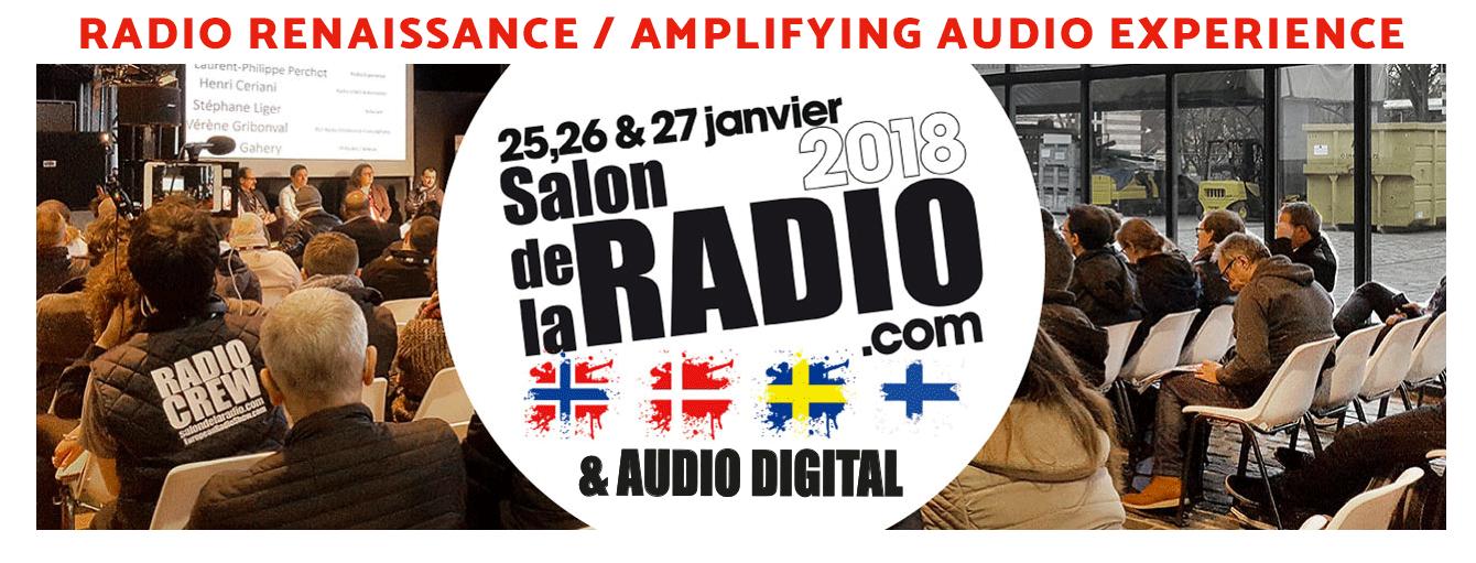 Ouverture des Grands Prix Radio 2018 du Salon de la Radio