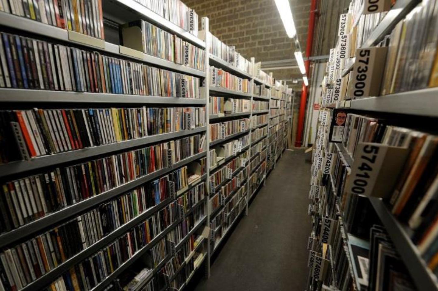 La Discothèque de Radio France est constituée de plus de 1.2 million de disques et de près de 2.5 millions de fichiers numériques © Christophe Abramowitz
